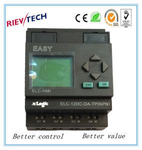 PLC programmabile del regolatore di logica di prezzi di fabbrica per controllo intelligente (relè programmabile ELC-12DC-DA-TP-HMI)