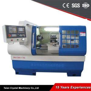 Torni poco costosi del metallo di CNC della macchina del tornio da vendere (CK6136A)