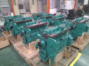 汚水処理またはわらまたは有機性無駄のためのYcd6bシリーズ(YCD6B100BG) Biogasの発電機セット