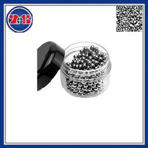 De Schoonmakende Ballen van het Roestvrij staal van de Karaf van het glas