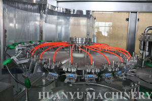 Ce, machine de remplissage automatique normale de jus de fruits d'UL