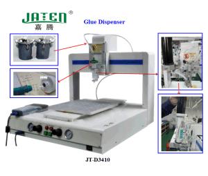El OEM modifica el dispensador adhesivo del pegamento para requisitos particulares automático 3axis (JT-D3410)