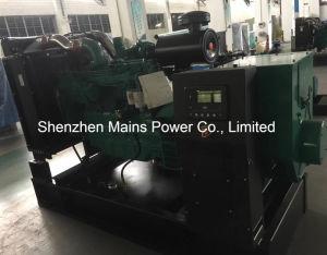 150kVA Cummins 디젤 엔진 발전기 방음 닫집 열려있는 유형 디젤 발전기