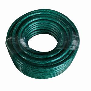 Tubo flessibile flessibile dell'acqua del giardino della treccia della fibra del PVC