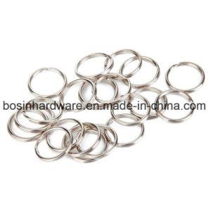 金属のキーホルダー25mmの分割されたリング
