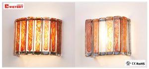 屋内ホテルのための正方形の簡単で装飾的なLEDの壁ランプ