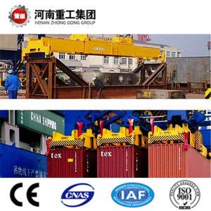 FEM/ISO standard 50T-500T Pneu en caoutchouc portique avec CE/SGS pour récipient de levage de certificat
