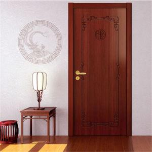 de binnenlandse houten deuren van het ontwerp van de hoofddeur van de teak van de slaapkamer houten recentste