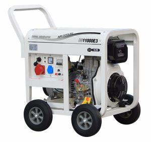 Трехфазный блок распределения питания 8 КВА 10 Ква Электрический пуск дизельного двигателя открытого типа генератор с САР