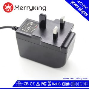 het UK 3 Pin Ce BS Adapter 24V 1A AC gelijkstroom Power Supply