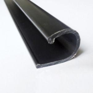 Profilo della plastica del PVC di figura di due colori U