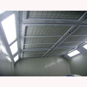 Btd passte Größen-erhältliche industrielle Industrieproduktion-Spray-Stand-Farbanstrich-Zeile an