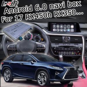 Casella del sistema di percorso di GPS del Android 6.0 per l'interfaccia del video di Lexus Rx450h Rx350 Rx200t 2016 ecc