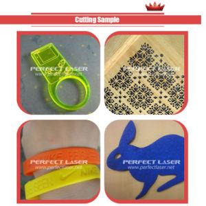 60W/plastique acrylique/Tissu/papier machine de découpage à gravure laser CO2