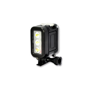 Impermeable de buceo de alta potencia LED de luz de relleno para Gopro-Hero5/4/3+/3/2/1/Acción cámaras