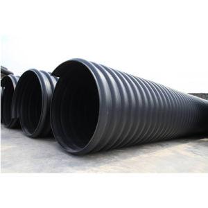 スチールバンドの補強されたPEの波形の排水の下水管管