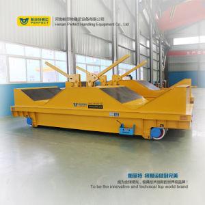 Indústria de Metal com transportador de rampa de carro com o sistema de elevação hidráulica