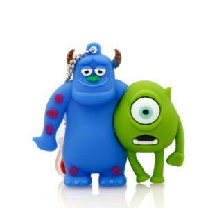 Modelo de universidad de los Monstruos de dibujos animados Pendrive USB 2.0 y 3.0