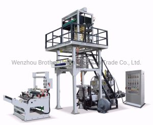 O LDPE/HDPE Parafuso Duplo ABA de três camadas máquina de sopro de filme