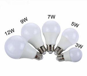 Alumínio + dissipador de calor de plástico Tampa de PC 3W 5W 7W 9W 12W lâmpada LED E26 E27 B22 E14 Base lâmpada de alta qualidade
