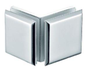 Chuveiro sem caixilho da braçadeira na parede de vidro (FS-503)