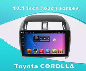 Toyota Corolla에서 인조 인간 시스템 차 DVD 플레이어 GPS/Bluetooth/TV를 가진 10.1 인치 접촉 스크린