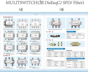 Brasil 2 em 4 Multi-Switch (SHJ-MS24)