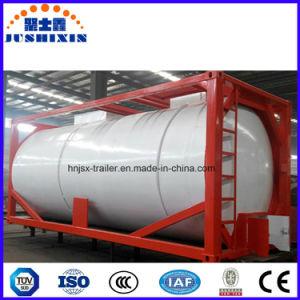 Contenitore liquido tossico corrosivo chimico del serbatoio di trasporto di iso Csc
