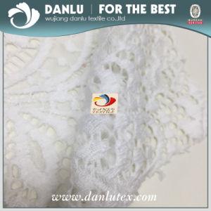 90% nylon Tissu pour la dentelle à la mode et accessoires du vêtement Robe de mariée