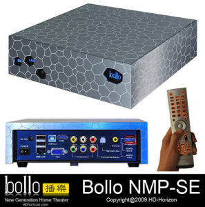 3.5 HDD Hard Disk High Definition Media Player-3 (NMP-MOB)