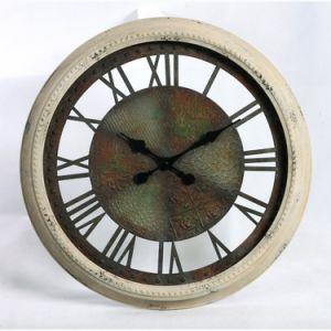 Antiguo reloj Metal artística clásica