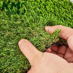 En 4 colores de alta densidad de jardinería Césped Sintético de la alfombra de césped artificial