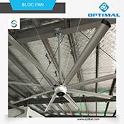 Opt 220 V CC el ventilador de techo Industrial