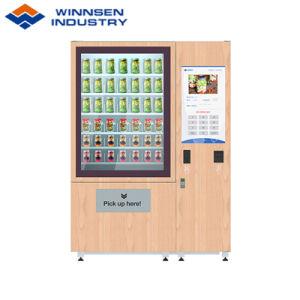 広告のための22インチのタッチ画面が付いている冷やされていたサラダサンドイッチパンの自動販売機