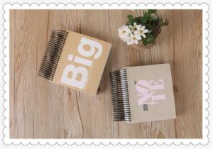 Bobina grande livro, Livro de quadrados, vazio dentro de página, esboço, Doodle Livro de Endereços, Computador portátil para alunos