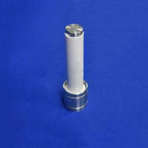 耐久力のあるAl2O3内部の鋼鉄棒のアルミナ陶磁器ピストン弁