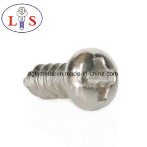 Personnalisation de haute précision de la vis en acier inoxydable CNC