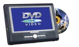 8 인치 TFT LCD 정제 휴대용 DVD