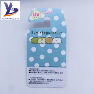Conception personnalisée pour lunettes de soleil en PVC imprimé étiquette