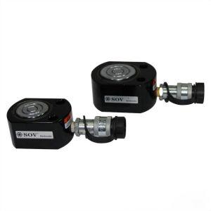 Cilindro idraulico ultra di altezza ridotta a semplice effetto