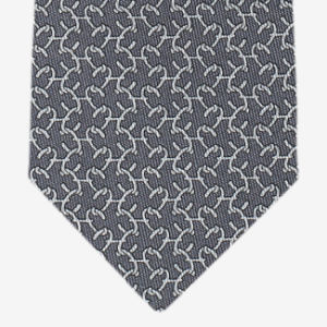 Verificação da moda masculina de Design de gravatas de microfibras