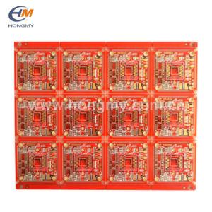 PCB de vermelho nos dois lados da placa de circuito impresso rígida Fábrica/PCB da câmara