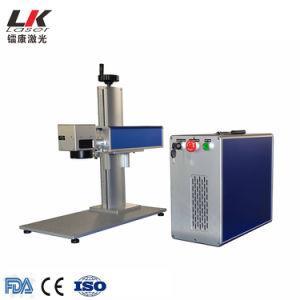 20W 30W 50W Metallfaser-Farben-Laser-Markierungs-Maschine