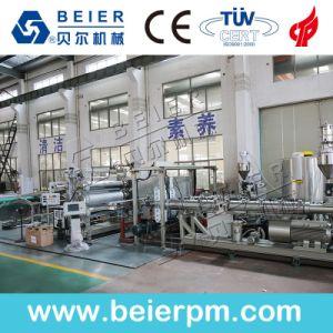 PE/PP/Plástico de PVC por extrusión de la junta de la línea de producción