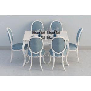 Muebles de comedor de estilo europeo, simple juego de mesa de comedor para Restaurante