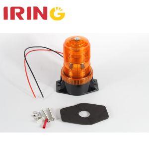 10-110V LEDのこはく色のストロボのSAEの警告の緊急の合図の光