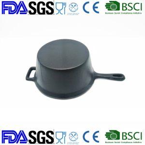 2.5qt Preseasonedの鋳鉄のキャンプのStockpotの価格の中国の工場