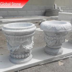Стороны вырезанными из камня сад мраморными сеялки (ВСП-135)