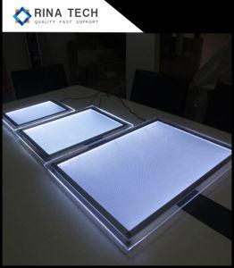Piatto acrilico della guida chiara per illuminazione del LED
