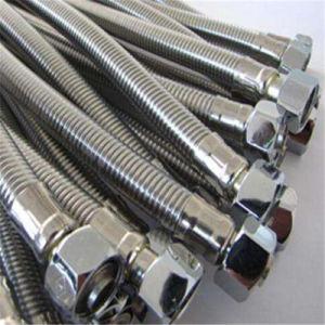 Standaard Flexibele Slang met Enige Laag van Vlecht 304